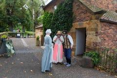MELBOURNE AUSTRALIEN - mars 12, 2015: James Cook stuga Arkivbild