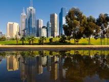 Melbourne australii fotografia stock