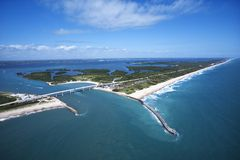 Melbourne Beach, Flordia. royalty free stock photography