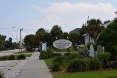 Melbourne Beach Florida royalty free stock photo