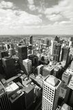 Melbourne black white Royalty Free Stock Photography