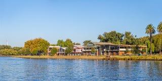 Melbourne Boathouse Obraz Stock