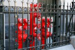Melbourne brandposter Arkivbild
