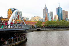 Melbourne budynki Obraz Royalty Free