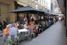 Melbourne cafe restaurant Australia Stock Photos