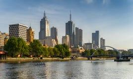 Melbourne CBD imagem de stock royalty free