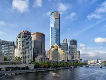 Melbourne CBD fotografia de stock