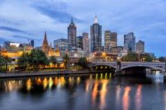 Melbourne CBD royalty-vrije stock fotografie