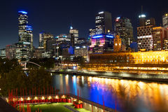 Melbourne CBD Australia Fotografie Stock