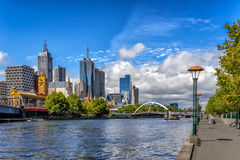Melbourne CBD Royalty Free Stock Image