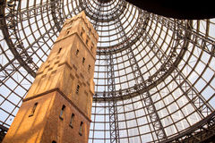 Melbourne Central Shopping Centre. Shot tower at Melbourne Central Shopping Centre. December 2015 royalty free stock images
