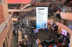 Melbourne central shopping mall Australia. People visit Melbourne central shopping mall in Melbourne Australia Stock Photos