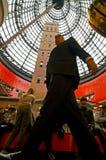 Melbourne central shoppingmitt Fotografering för Bildbyråer