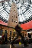 Melbourne central shoppingmitt Arkivfoto