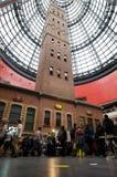 Melbourne central shoppingmitt Arkivbilder