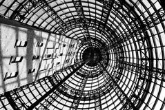 Melbourne Central Station. An image from the underground of Melbourne Center Station Stock Photos