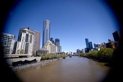 Melbourne centrum miasta Australia Zdjęcia Stock