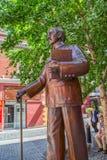 Melbourne Chinatown statua Zdjęcia Stock