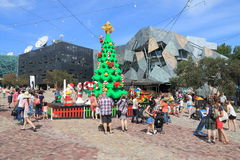 Melbourne Christmas Australia royalty free stock photo