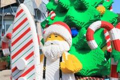 Melbourne Christmas Santa claus Australia Royalty Free Stock Image