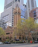 Melbourne church Australia Royalty Free Stock Photography