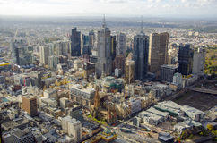 Melbourne city Royalty Free Stock Photo