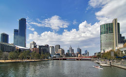 Melbourne City Stock Images