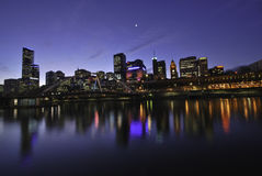 Melbourne City, Australia Stock Image