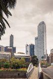 Melbourne City Business District Royalty Free Stock Images