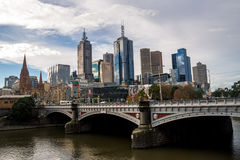 Melbourne City Centre Royalty Free Stock Images