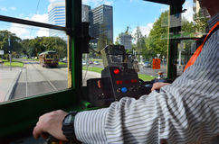 Melbourne City Circle Tram Royalty Free Stock Photos