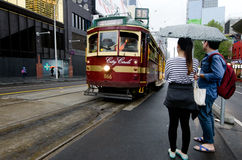 Melbourne City Circle Tram Stock Images