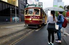 Melbourne City Circle Tram Stock Images