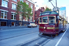 Melbourne City Circle Tram Stock Photos