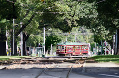 Melbourne City Circle Tram Royalty Free Stock Images