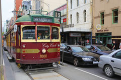 Melbourne City Circle Tram Royalty Free Stock Photography