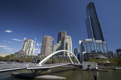 Melbourne City Royalty Free Stock Photography