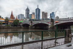 Melbourne city Stock Photos