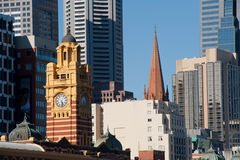 Melbourne city - Victoria - Australia Royalty Free Stock Photos