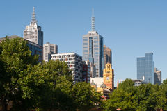 Melbourne city - Victoria - Australia Stock Images