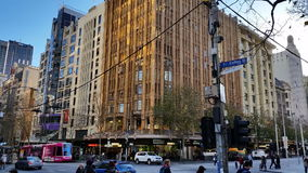 Melbourne City Victoria Australia - CBD stock video footage
