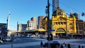 Melbourne City Victoria Australia 2015 stock video footage