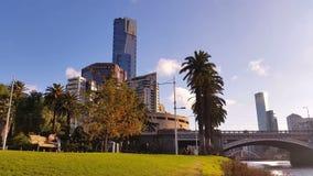 Melbourne City Victoria Australia stock video