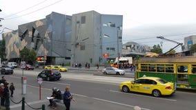 Melbourne City Victoria Australia stock video footage