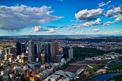 Melbourne City View. On the 88 Floor, view the whole Melbourne city. It's very bueatiful Royalty Free Stock Photography