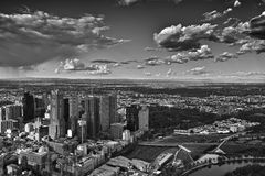 Melbourne City View. On the 88 Floor, view the whole Melbourne city. It's very bueatiful Royalty Free Stock Images