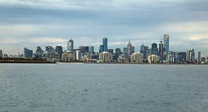 Melbourne city view Royalty Free Stock Images