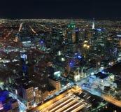 Melbourne cityscape Arkivbilder