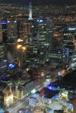 Melbourne cityscape Royalty Free Stock Image