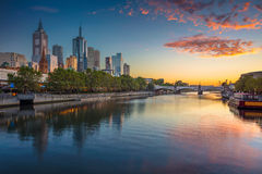 Melbourne. Royalty Free Stock Photo